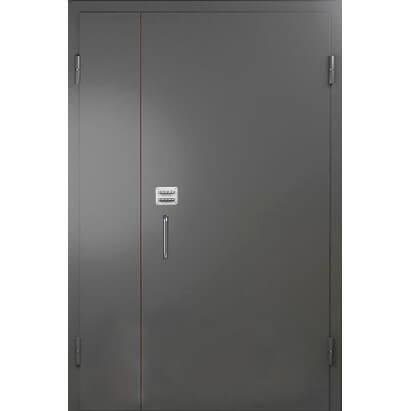 дверь в подъезд с кодовым замком (снаружи)