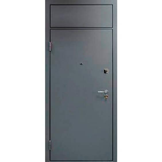 одностворчатая дверь с фрамугй сверху-zerkalo