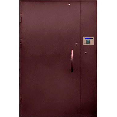 подъездная дверь в грунте (снаружи)-zerkalo