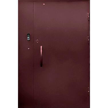 подъездная дверь в грунте (снаружи)