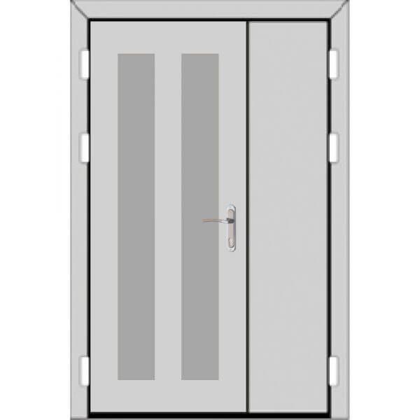 Полуторная дверь (2 к 3)