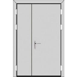 Полуторная дверь (2 к 3)- с ручкой планкой