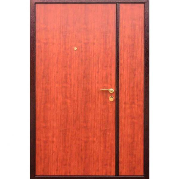 полуторная дверь с ламинатом-zerkalo