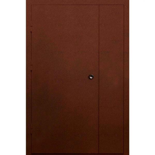 стальная дверь в парадную с антиком (внутри)-zerkalo